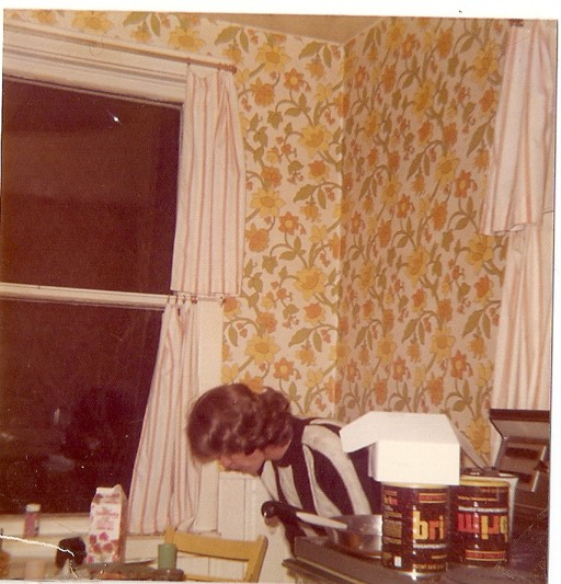 Sue in kitchen